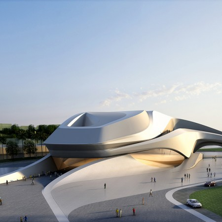 Martha Read Architects Grand Theatre de Rabat
